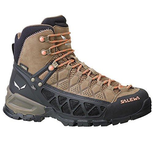Randonnée Alp WS de Hautes Femme Flow Chaussures Marron Tex Gore Mid Salewa UpqxAA