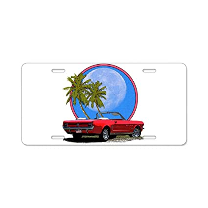 Ford Mustang License Plate Vanity Auto Tag