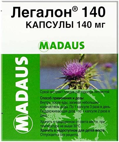 Madaus Legalon 140Mg 30S