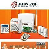 Kit Allarme Bentel ABS16 COMPLETO ABS-GSM ABS-IP SIRENA CALL-PI + 4 SENSORI BMD501