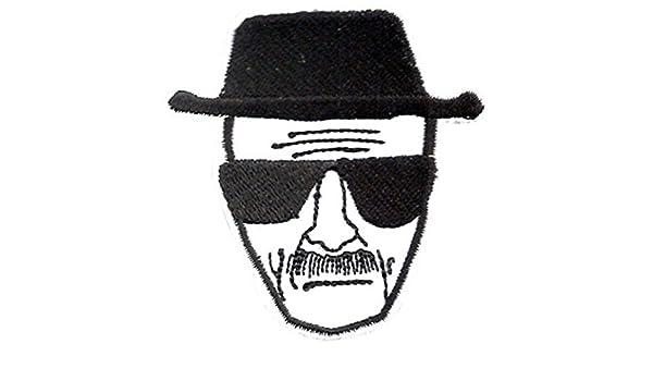 Breaking Bad blanco y negro bordado insignia parche para coser o planchar 6,5 cm: Amazon.es: Hogar