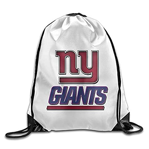 Bekey Ny Giants Gym Drawstring Backpack Bags For Men & Women For Home Travel Storage Use Gym Traveling Shopping Sport Yoga (Jake Wii)
