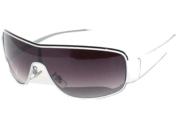 Tedd Haze - Gafas de sol - para hombre blanco negro talla ...