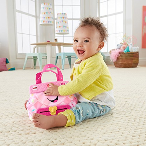51DAOXquLJL - Fisher-Price My Smart Purse Toy Playset