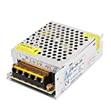uxcell S-25-24 Aluminum Housing AC 110V to DC 24V 1A 24W for LED Switching Power Supply