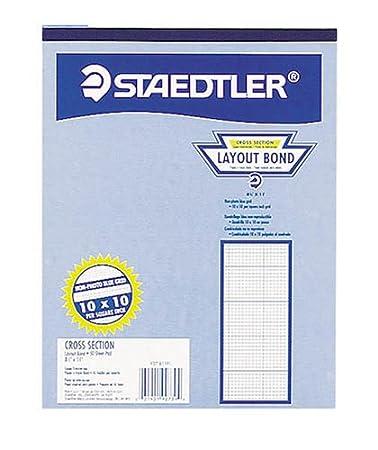 Amazon.com : Staedtler(R) Engineering Computation Pad, 5 x 5 Grid ...