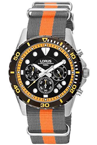 Lorus Sport Mens Analog Quartz Watch with Nylon Bracelet RT367BX3