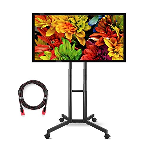 Suptek Universal TV Cart For LCD LED Plasma Panel Stand Mount With Wheels Mobile For 32 to 60 Inch (ML5073-2) by suptek
