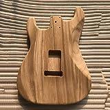 Seniorshop-US Unfinished DIY Guitar Body Maple Body for Fender ST Style Guitar