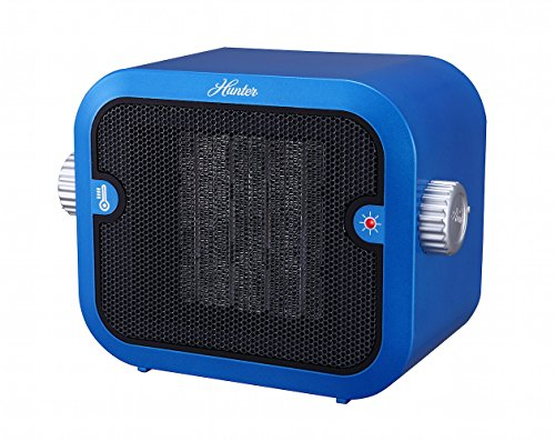 Hunter-PC-003BU-Retro-Ceramic-Space-Heater-Blue