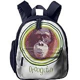 Shoulders Bag With Pocket Funny Giant Orangutan Daughter Class Gift Cute JOYLIAN