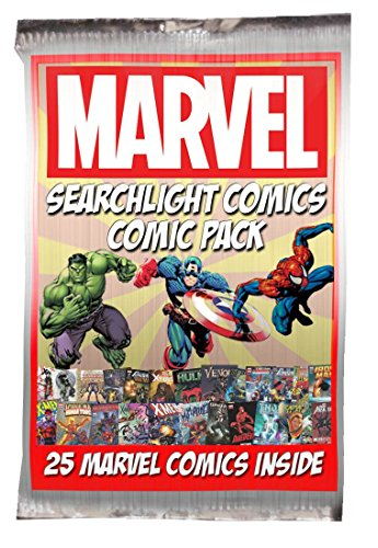 25 Marvel Comic Bundle + Bonus Searchlight Comics