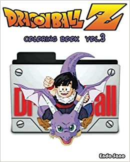 DragonBall Z Coloring Book Series Vol3 Endo Sano 9781540371225 Amazon Books