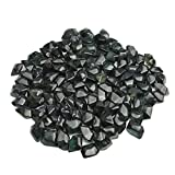 Mr. Fireglass Fire Glass for Natural or Propane Fire Pit Fireplace Gas Log Sets, 10 Pounds, 1/2-Inch, Interstellar Gray