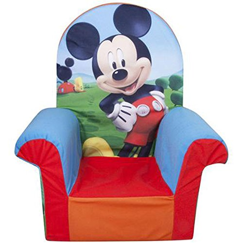 Disney Marshmallow High Back Chair Mickey Mouse Club House F