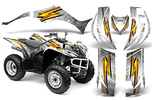 CreatorX Yamaha Wolverine 2006-2012 Graphics Speed Bolts White -  CXAMZ008395