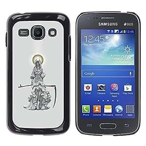 Ihec Tech Parca Ángel Guadaña de la Muerte del Cabo / Funda Case back Cover guard / for Samsung Galaxy Ace 3
