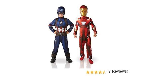 Marvel - I-620775S - Paquete con Dos Disfraces (Iron Man y Capitán ...