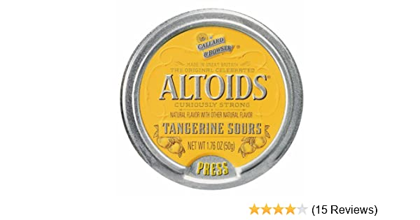 amazon com altoids curiously strong sours tangerine fruit candy