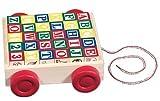 Melissa and Doug Classic ABC Block Cart, Baby & Kids Zone