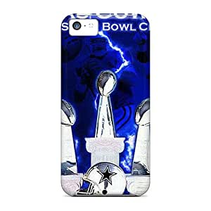 New Premium Flip Cases Covers Dallas Cowboys Skin Cases For Iphone 5c