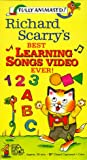 Richard Scarry's Best Learning Songs Video Ever! [VHS]