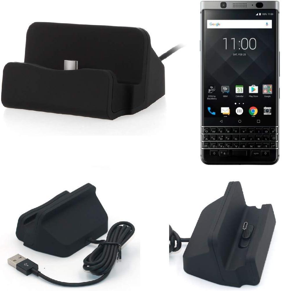 K-S-Trade Dock USB para El Blackberry KeyOne, Negro | Estación De ...