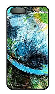 Graffiti Style - iPhone 5 5S Case Funny Lovely Best Cool Customize PC iPhone 5 Cover Black