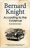 According to the Evidence (A Richard Pryor Mystery)