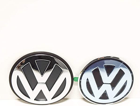 blanc Couvercle de godet VW jante alliage Cap dorigine bleu Golf IV, Bora, Polo