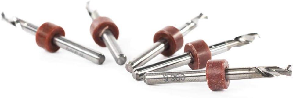 Milling Cutter 10pcs 3.0mm PCB Drill Bits Set 3.175mm Shank Carbide Mini Gun Drill Bit-10_Box_(_100pcs) 5 Box ( 50pcs)