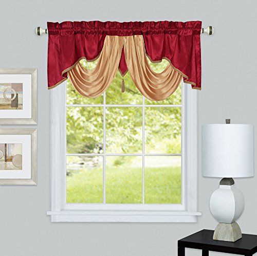 VALARIE Fancy window valance. 54 x 18