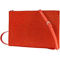 Crossbody Bag Handbag Women Cut Out Clutch Purse Vegan Shoulder Bags Medium Size