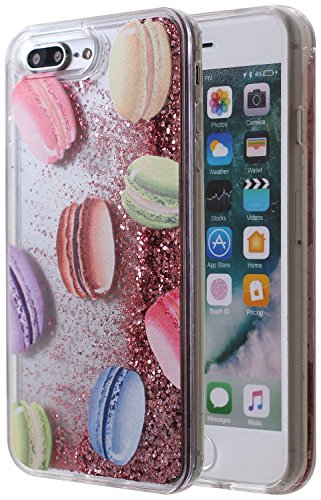 立即购买! iPhone 8 Plus Bling Case, Glitter Liquid Sparkle Floating Luxury