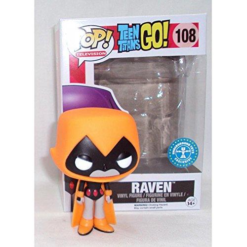 Funko Orange Raven Teen Titans GO -
