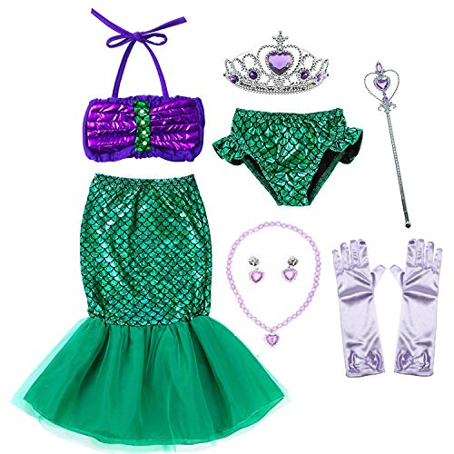 Princess Ariel Little Mermaid Costume Birthday Party