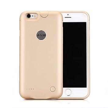 Funda Batería iphone 6 plus / iphone 6s plus, AGM Funda protectora cargador ultra fina 3000mAh carcasa cargador externa recargable para iPhone 6 plus ...
