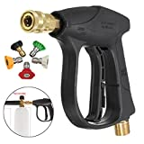 Force Washing Machine - Car Motorcycle Bicycle 200bar 3000psi Pressure Washer Gun 5 Nozzle - Overflowing School Pinched Luxuriously Upper Blackjack Altissimo Sharp Falsetto - 1PCs