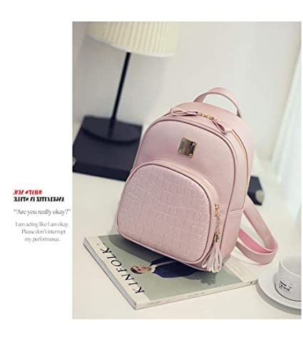 Fashion Women Backpack High Quality Youth Leather Backpacks For Teenage Girls Female School Shoulder Bag Casual Style Wholesale To Rank First Among Similar Products Women's Bags Backpacks