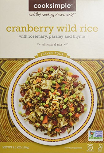 Cooksimple Cranberry Wild Rice