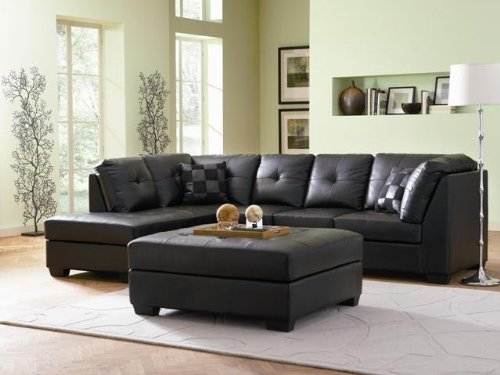 decorate living room brown leather sofa