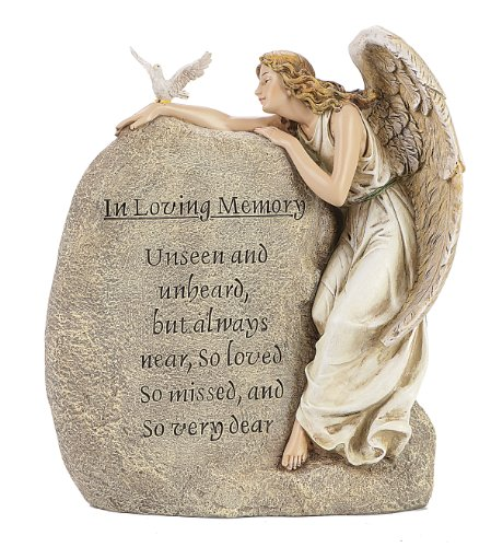 Roman in Loving Memory Angel, Dove and Verse ()