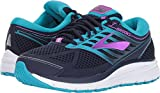 Brooks Women's Addiction 13 Evening Blue/Teal Victory/Purple Cactus Flower 8.5 Wide US