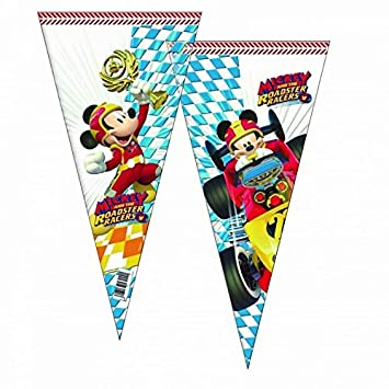 ALMACENESADAN 2360; Pack 6 Bolsas de Cono Disney Mickey ...