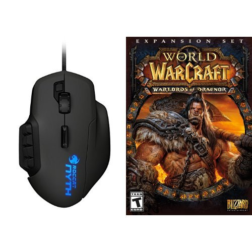 World of Warcraft: Warlords of Draenor Expansion - PC/Mac [Digital Code] and Mouse Bundle