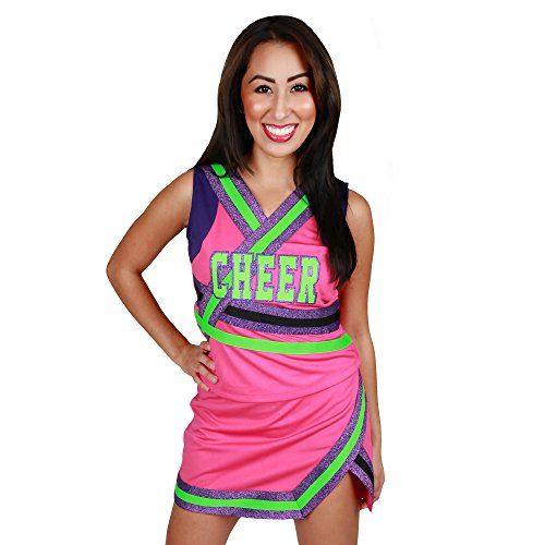 Girls Cutie Pie Cheerleader Halloween Costume (Youth X-Large)