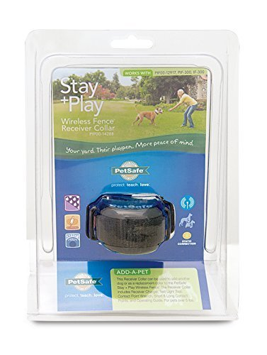 PetSafe Stay + Play Wireless Fence Receiver Collar by PetSafe