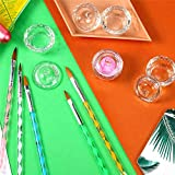5Pcs UV Gel Acrylic Nail Brush Set for Nail Art