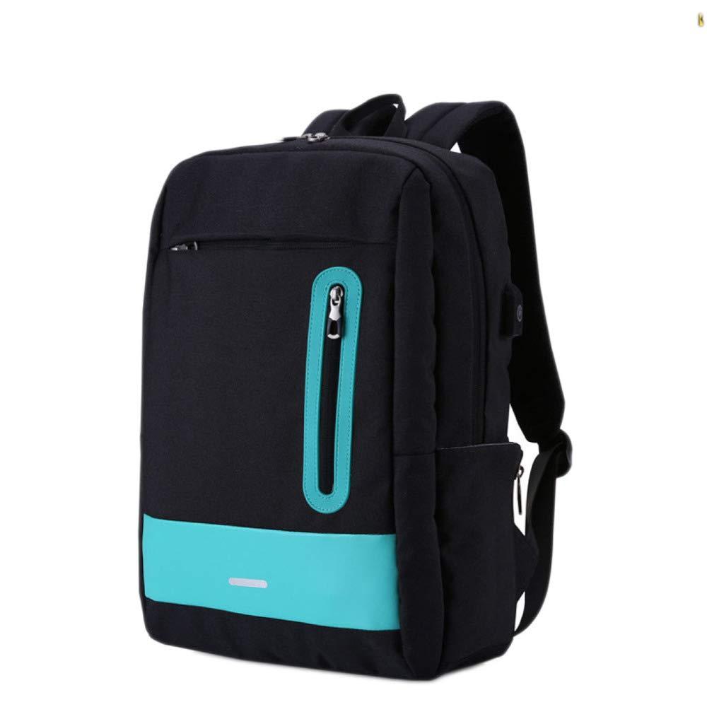 JIAN Mochila con para Portátil De 15 Pulgadas con Mochila Carga USB Bolsa Impermeable para Computadora De Gran Capacidad,LightGrey-15Inch a36dd6