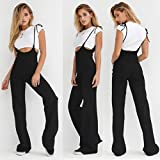 Women Summer Stylish Holiday Backless Sleeveless Long Beach Cozy Jumpsuit Rompers (XL)